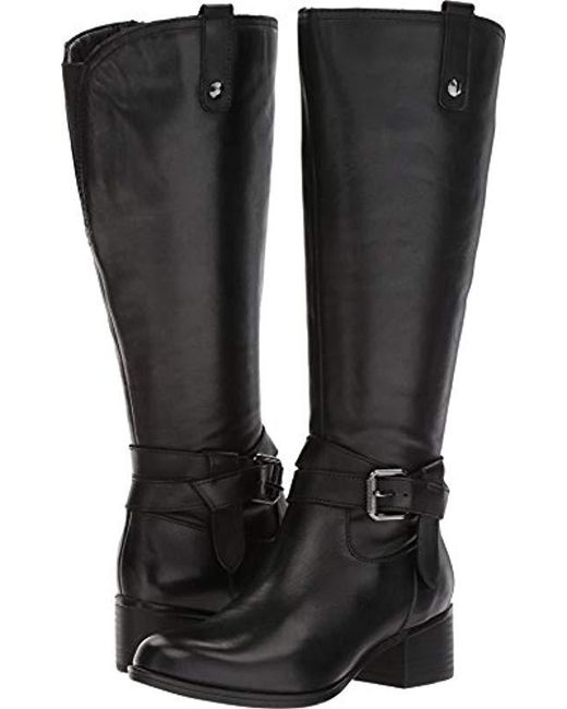 c959eb906268 Lyst - Naturalizer Dev Wc Riding Boot in Black - Save 62%