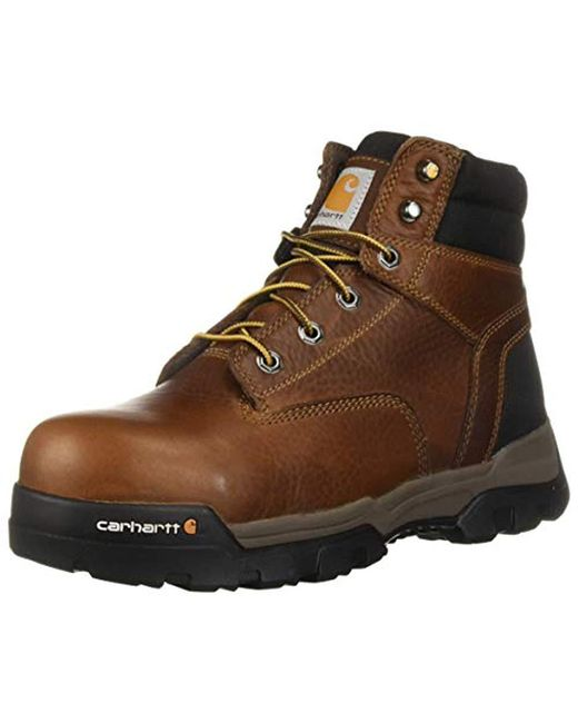 "Carhartt - Brown Ground Force 6"" Non-waterproof Comp Toe Industrial Boot for Men - Lyst"