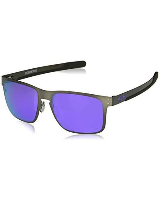 8a068589476a1 Oakley - Multicolor Holbrook Metal Non-polarized Iridium Square Sunglasses