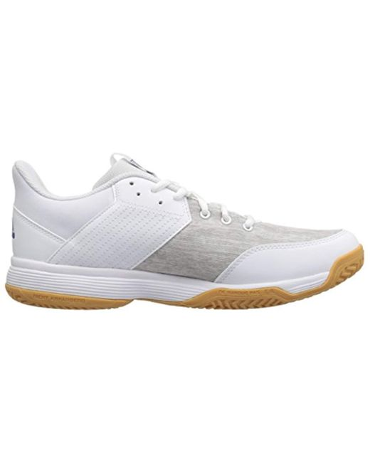 new concept 42fb5 a5346 ... Adidas Originals - White Ligra 6 Volleyball Shoe for Men - Lyst ...