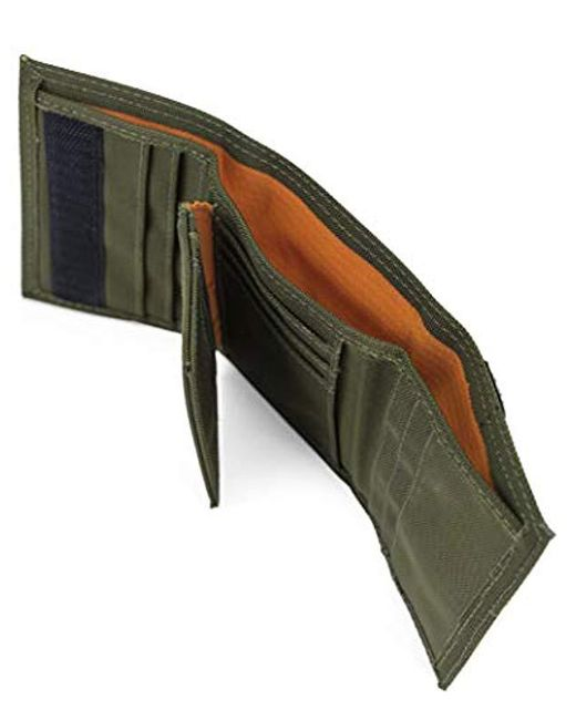 e6638c1e077c ... Timberland - Green Cordura Nylon Rfid Trifold Wallet With Id Window for  Men - Lyst ...