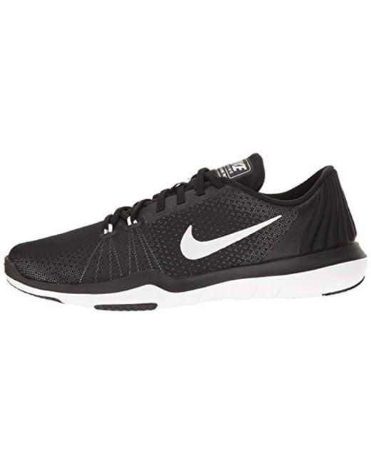5cb9b1621b2b Lyst - Nike Flex Supreme Tr 5 Cross Training Shoe in Black - Save 45%