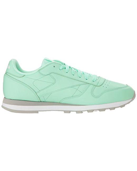 2aac1ec4d8a54 ... Reebok - Classic Leather Walking Shoe Digi-digital Green white 5 M Us  for ...