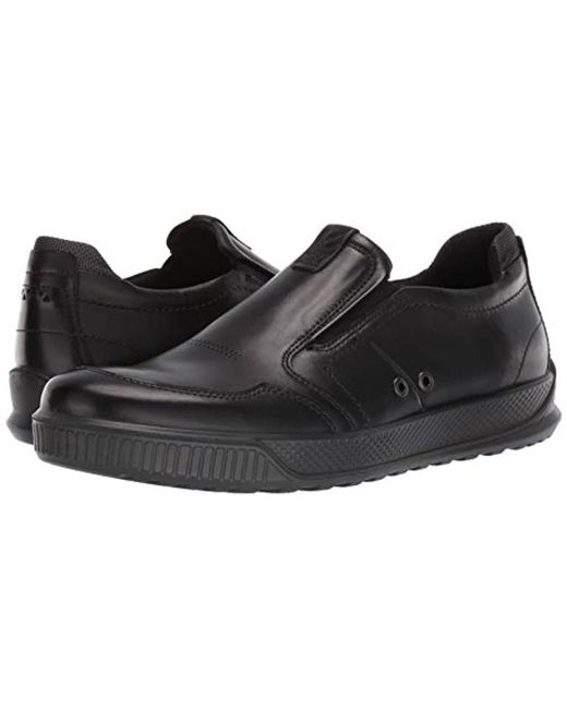 c1dfb1197d Ecco Byway Slip On Sneaker in Black for Men - Lyst
