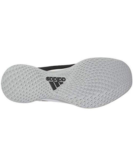 4 White Trainer Speed Lyst Baseball ShoeBlackcrystal Adidas Aj35Lq4R