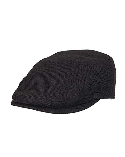 232a76b1d1999 Dockers - Black Ivy Newsboy Hat for Men - Lyst ...