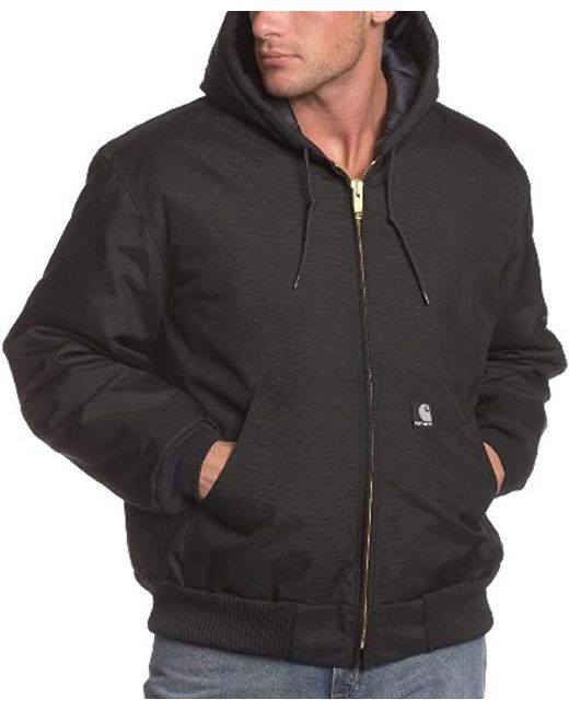 Carhartt - Black Arctic Quilt Lined Yukon Active Jacket J133 for Men - Lyst
