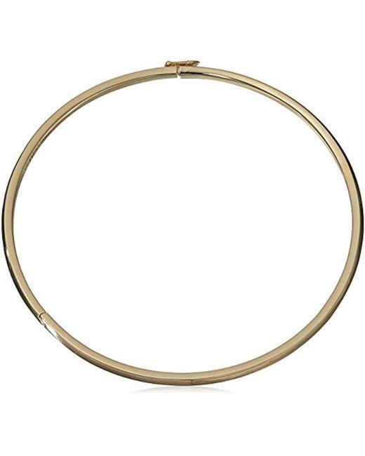 Eddie Borgo - Metallic Peaked Collar Necklace - Lyst