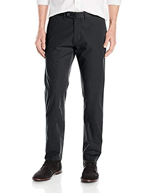 Todd Snyder - Black Hudson Tab Front Chino Pant for Men - Lyst