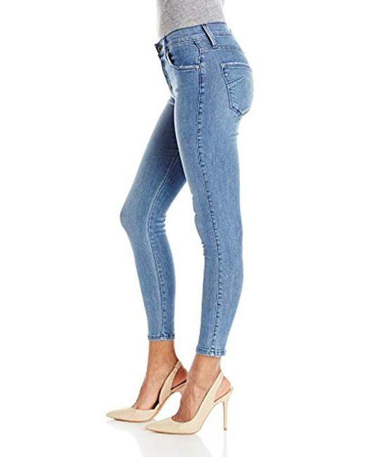 511b2d953f698b ... James Jeans - Blue Twiggy Ankle Five-pocket Legging Jean - Lyst