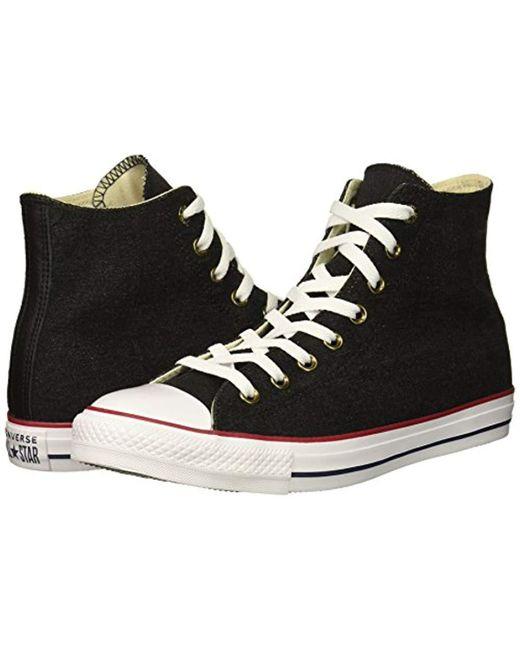 e4d93e57e82d ... Converse - Black Chuck Taylor All Star Denim High Top Sneaker for Men -  Lyst ...