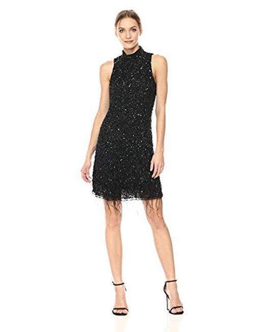 Parker - Black Marley Dress - Lyst