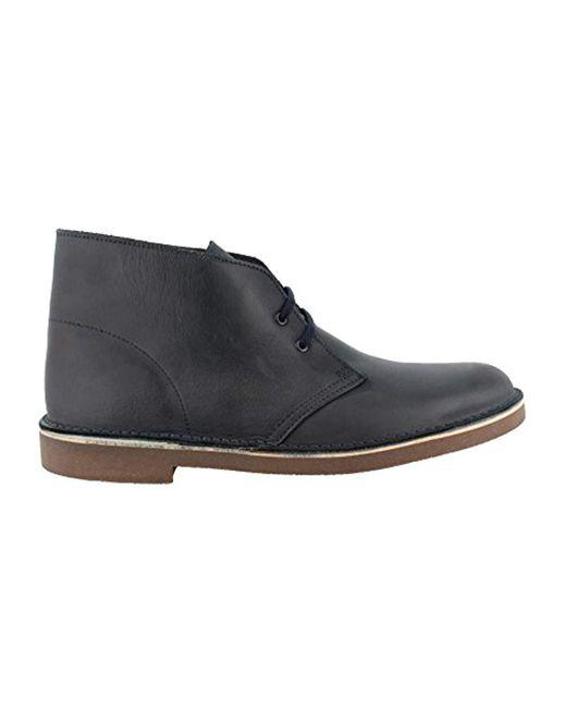 Clarks - Blue Bushacre 2 Chukka Boot for Men - Lyst