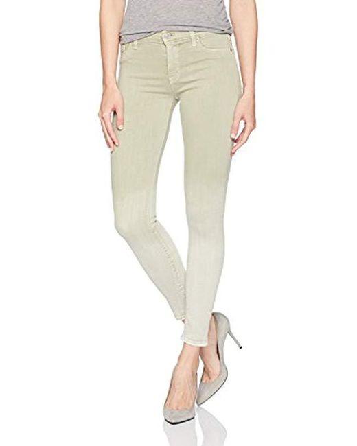 Hudson - Multicolor Nico Midrise Ankle Super Skinny Jean - Lyst