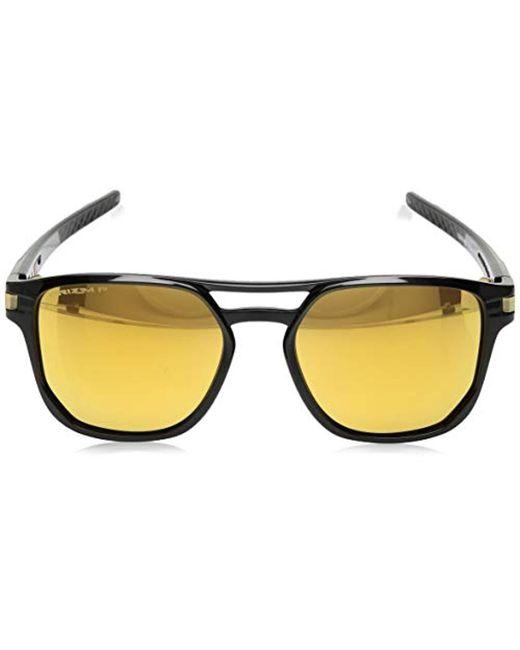 3efac6692f ... Oakley - Black Latch Beta Prizm Polarized Sunglasses for Men - Lyst ...