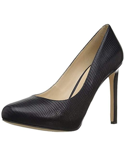 Nine West Blue Tyler Reptile Pump
