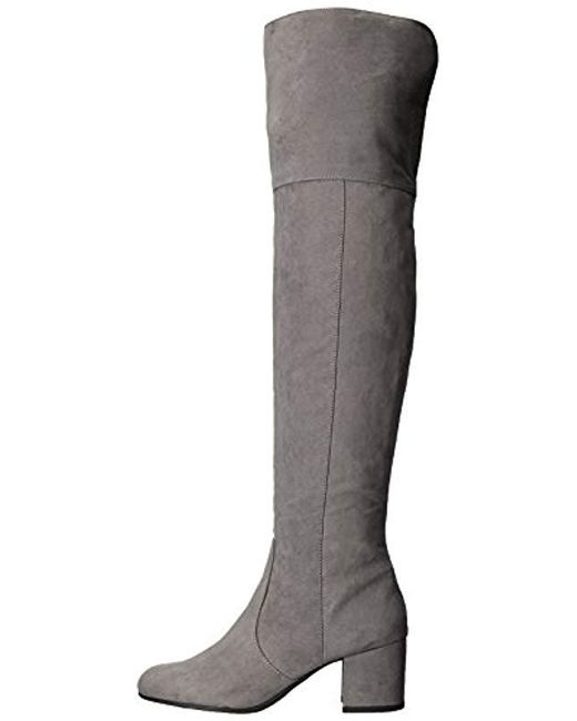 b7036abef0c ... Circus by Sam Edelman - Gray Vivica Over The Over The Knee Boot - Lyst  ...