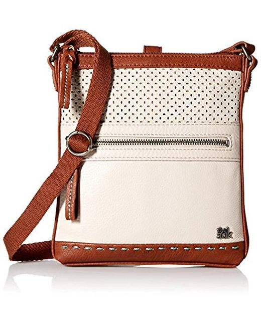 The Sak - Multicolor Pax Swing Pack Cross Body, Stone Perforated - Lyst
