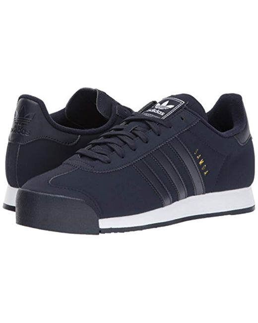 2fd0e6d4324d ... Adidas Originals - Blue Samoa for Men - Lyst ...