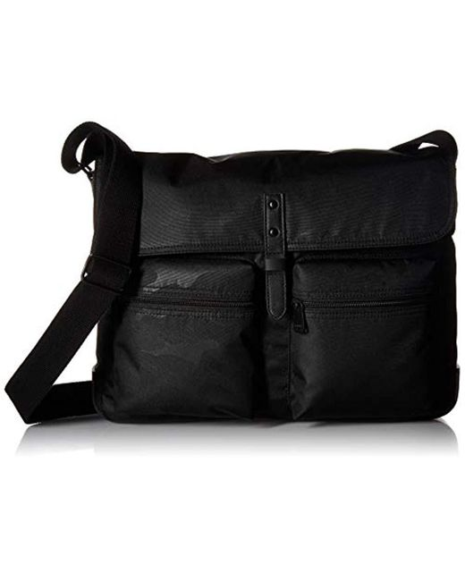 Fossil - Black Buckner Messenger for Men - Lyst