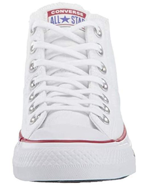 d75bed29254 ... Converse - White Chuck Taylor All Star Madison Mid Top Sneaker - Lyst  ...