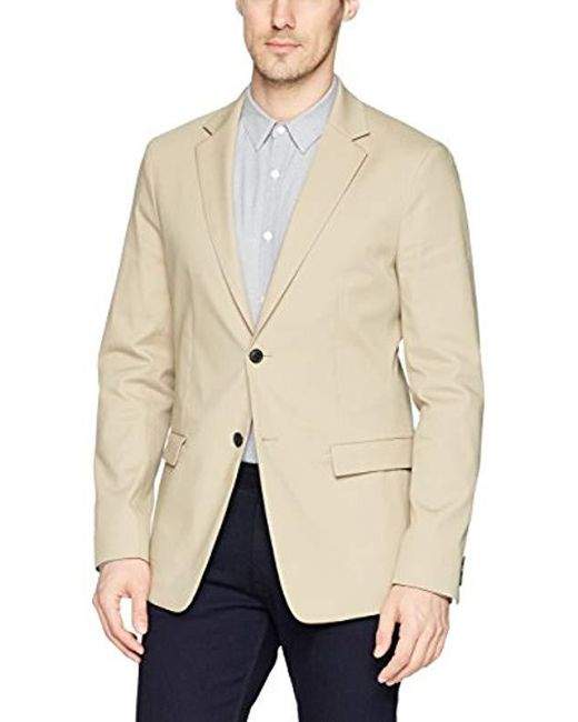 Theory Natural Compact Stretch Cotton Blazer for men