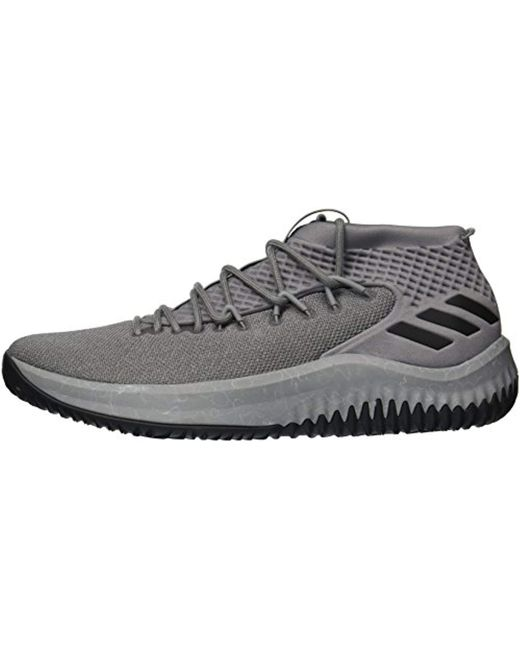 904eb1f9b55c ... Adidas - Gray Crazy Time Ii Football Shoe for Men - Lyst ...