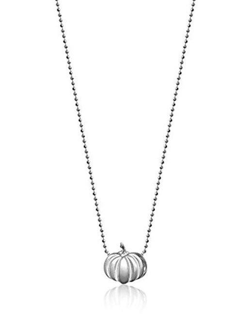 "Alex Woo - Metallic ""little Seasons Pumpkin Pendant Necklace, 16"" - Lyst"