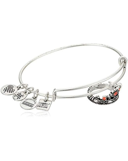 Alex And Ani Metallic Charity By Design Queen S Crown Bangle Bracelet