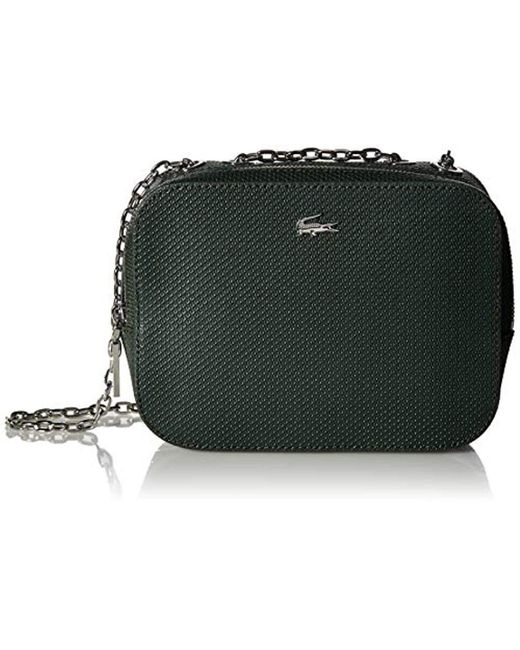 1c63bbcd9 Lacoste Xs Square Crossover Bag, Nf2573xc in Green - Save 24% - Lyst