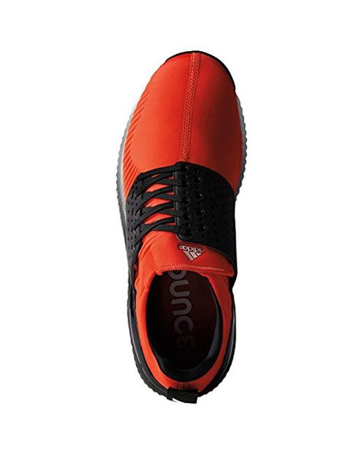online store a1a35 9bddf ... Adidas - Red Adicross Bounce Golf Shoe for Men - Lyst ...