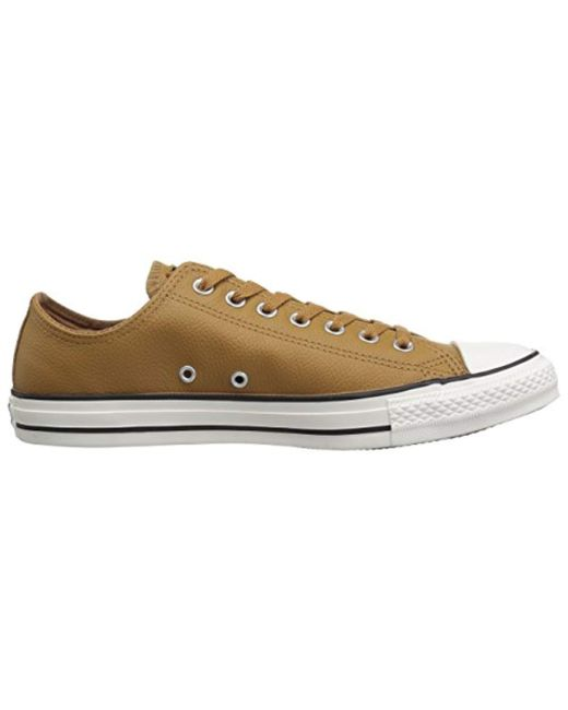 634c62ede0d ... Converse - Multicolor Chuck Taylor All Star Tumbled Leather Low Top  Sneaker - Lyst ...