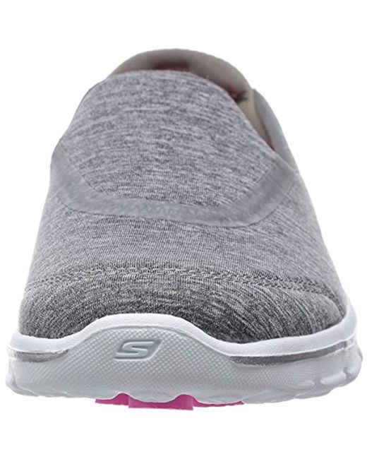 6acd5254e907 ... Skechers - Gray Performance Go Walk 3 Reboot Walking Slip-on Shoe -  Lyst ...