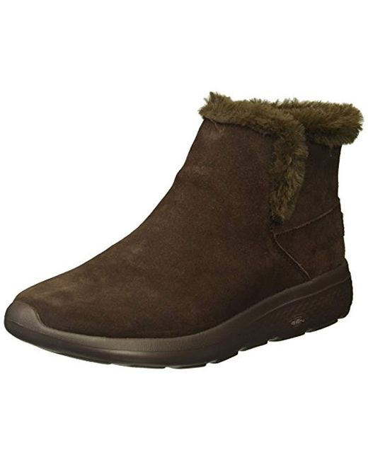 Skechers - Brown Performance On-the-go City Bundle Winter Boot - Lyst