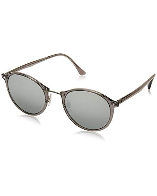 Ray-Ban - Gray 0rb4242 Round Sunglasses - Lyst