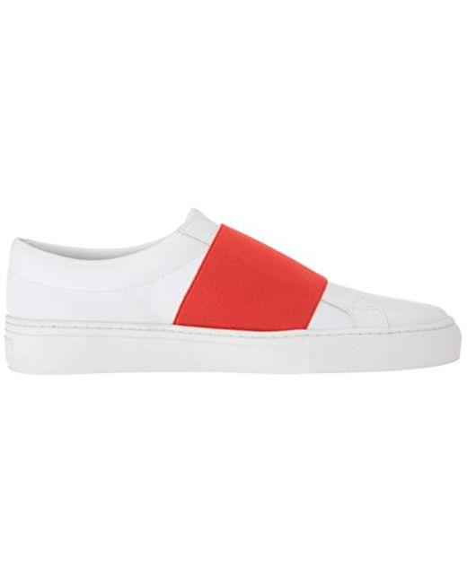 975842c740c1 Lyst - Via Spiga Saran Slip On Sneaker in Red - Save 41%