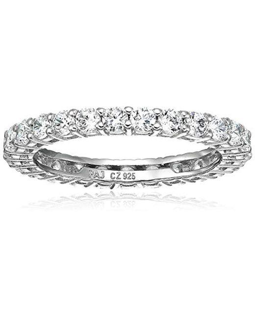 Amazon Essentials - Metallic Plated Sterling Silver Mesh Chain Bracelet - Lyst