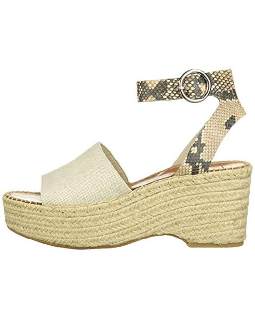 257c42361a6 ... Dolce Vita - Multicolor Lesly Wedge Sandal - Lyst ...