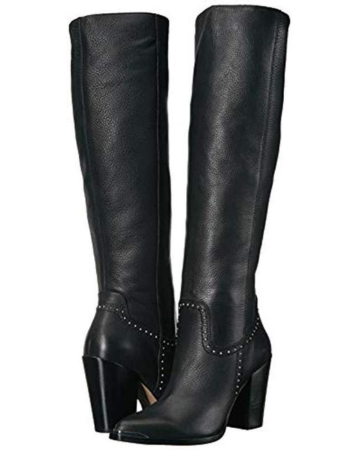 98d819bd06f4 ... Dolce Vita - Black Kanya Knee High Boot - Lyst ...