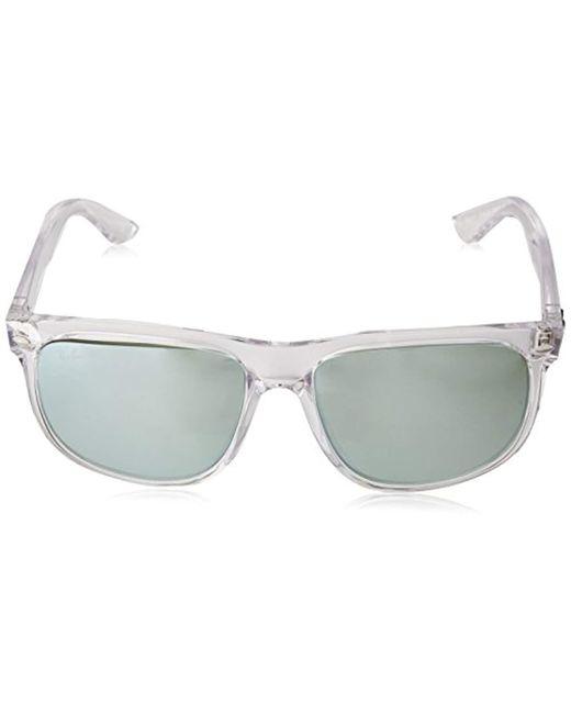 4ee6e7cf88 ... Ray-Ban - Multicolor Rb4147 - 632530 Sunglasses Transparent W  Dark  Green