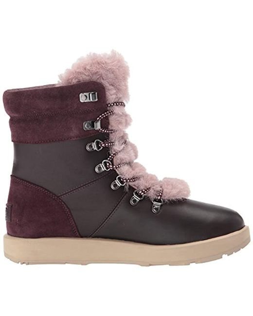 bfc264c69934 ... Ugg - Multicolor Women s Viki Waterproof Leather Lace Up Boots ...