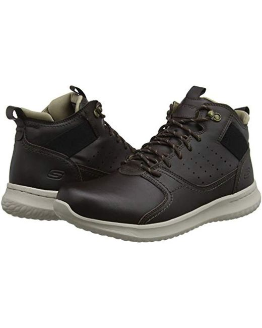 Lyst Ortego Skechers Trainers for Brown 's Delson in Men rzrtySHqw