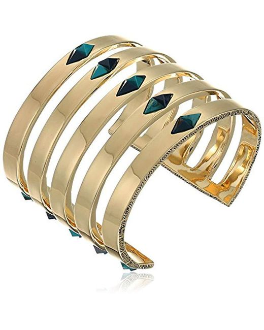House of Harlow 1960 - Multicolor The Flip Side Cuff Bracelet - Lyst