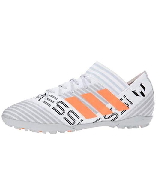 a99d7aafb56d ... Adidas - White Nemeziz Messi Tango 17.3 Tf Soccer Shoe for Men - Lyst  ...