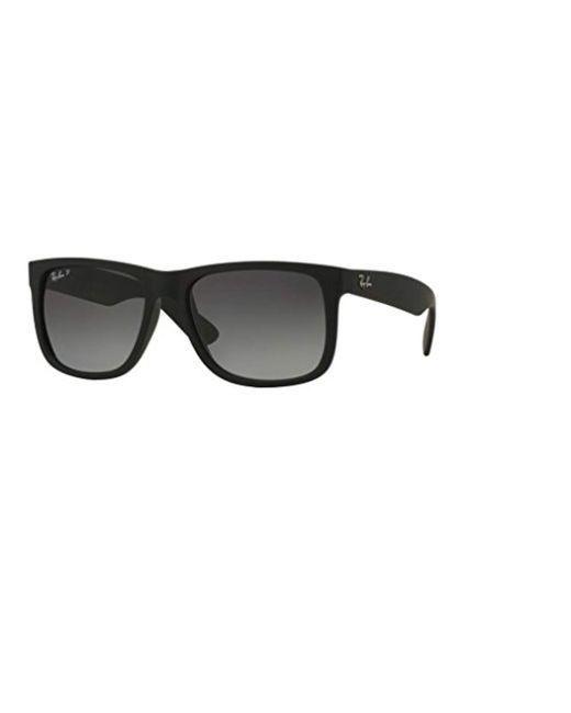 Ray-Ban - Gray Ray Ban Rb4165 Justin Sunglasses... - Lyst