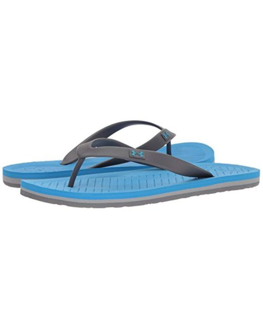 8c9f954a8ee Lyst - Under Armour Atlantic Dune Flip-flop in Blue for Men - Save 14%