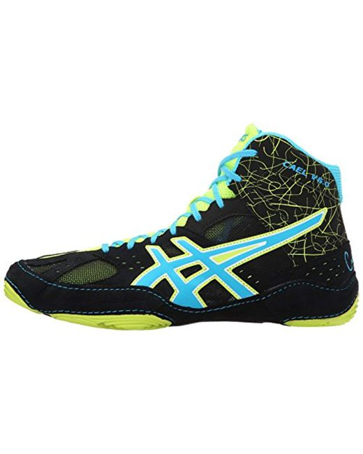 ... Asics - Blue Cael V6.0 Wrestling Shoe for Men - Lyst ... f81fe8cf6