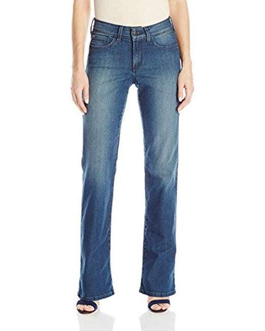 NYDJ - Blue Barbara Bootcut Jeans - Lyst