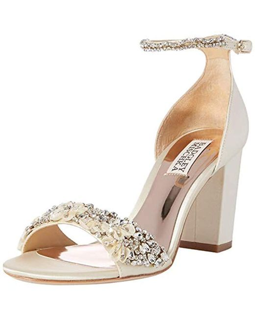 06098077d96c Badgley Mischka - Multicolor Finesse Heeled Sandal - Lyst ...