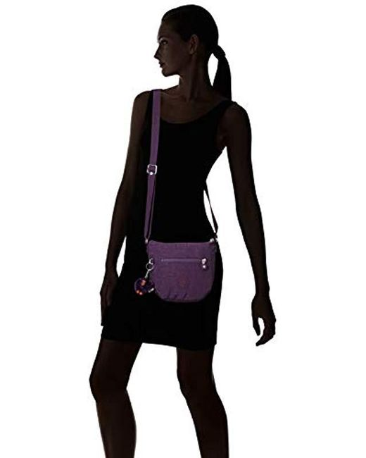 3d4ad867611 Kipling Bailey Extra Small Solid Minibag, Deep Purple in Purple ...